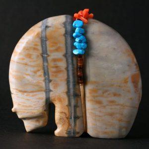 Medicine Bear Fetish by Paulette Quam