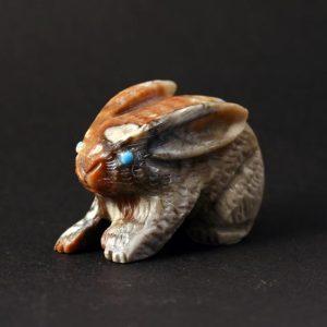 Zuni Rabbit fetish carving
