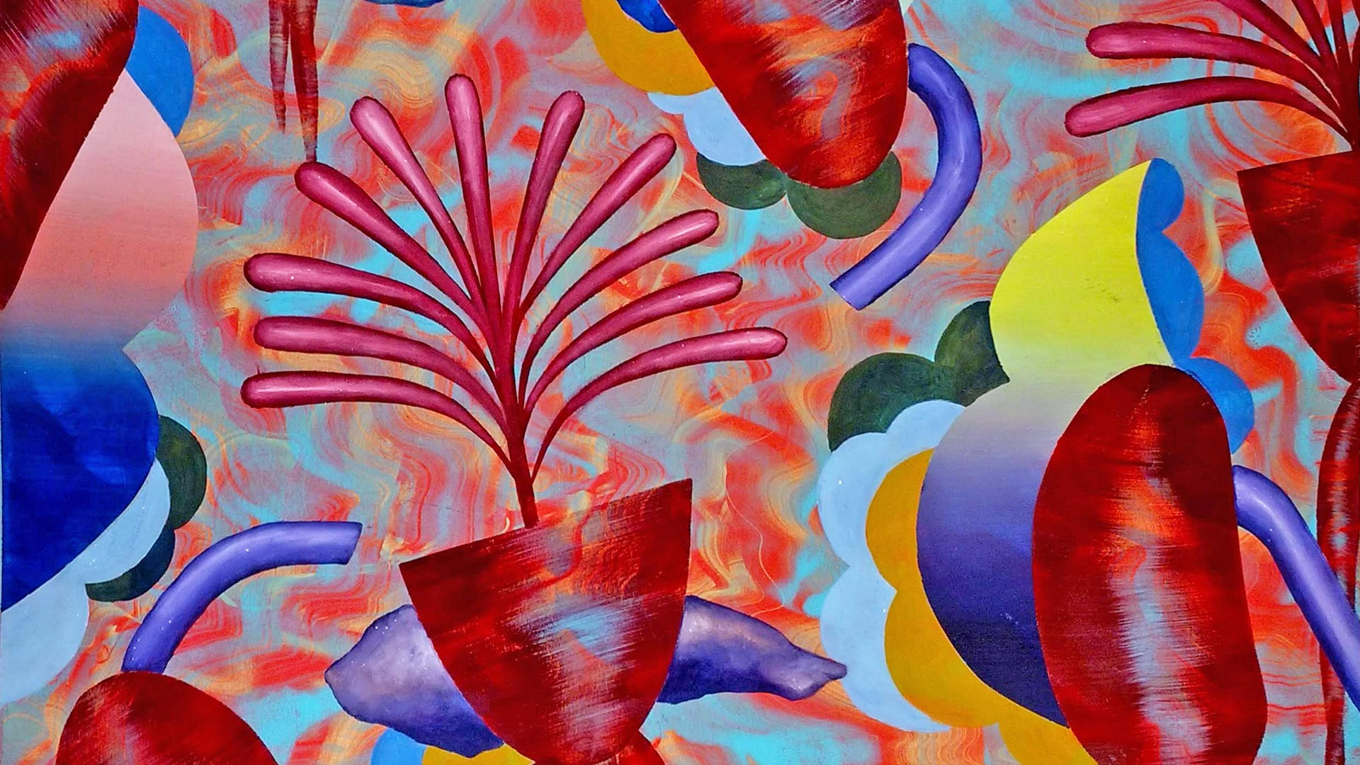Flora 14 (detail) by Monty Little