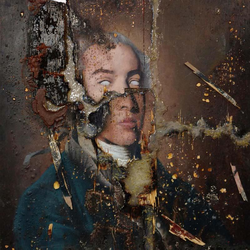 IMMANUEL KANT (SELF-PORTRAIT) by Greg Ballenger, Diné