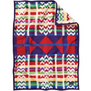 Morning Cradleboard Crib Blanket