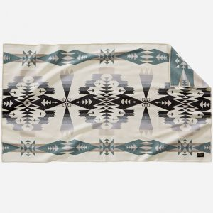 Tucson Saddle Blanket, Ivory, Pendleton