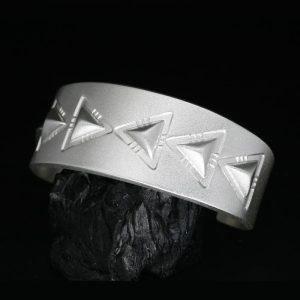 Repoussé Bracelet by Chris Pruitt