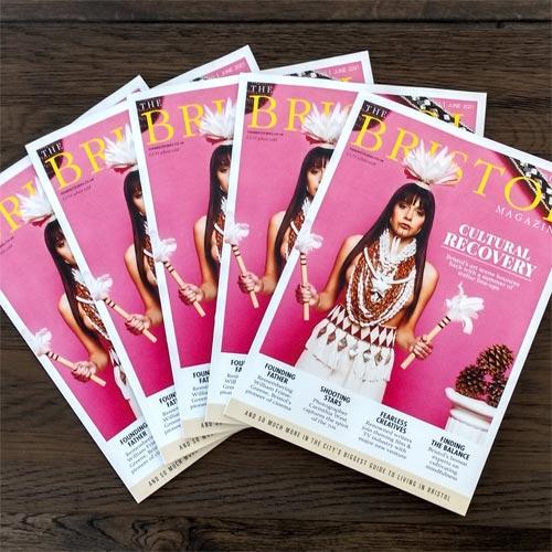 The Bristol Magazine cover