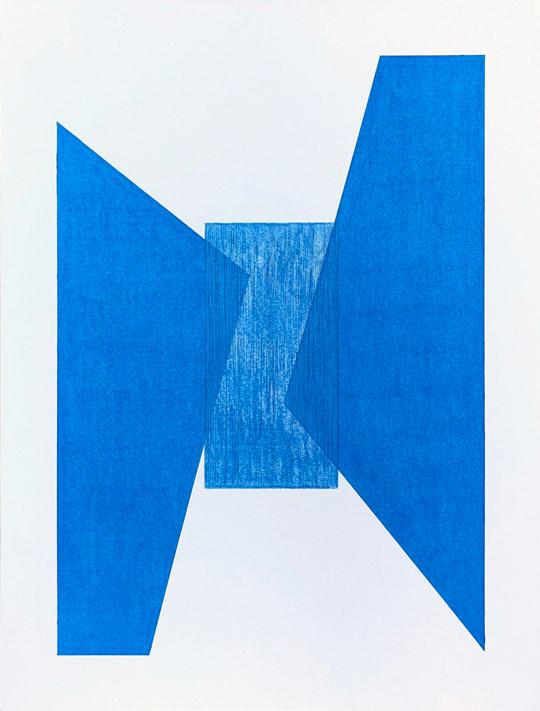 Blue Lodge Sky, drawing by Jason Wesaw, Potawatomi