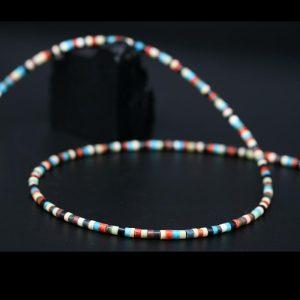 Pueblo Heishe Bead Necklace by H & J Chavez