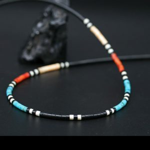 Heishe Necklace by Harvey & Janie Chavez