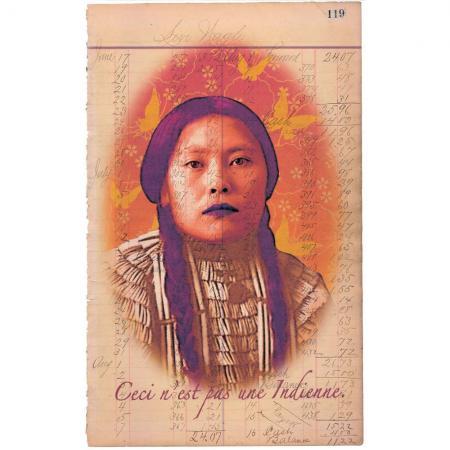 Ceci N'est pas Une Indienne by Debra Yepa-Pappan