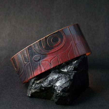 Hiada copper bracelet by Gwaai Edenshaw
