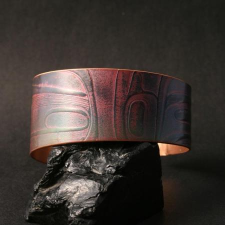 Haida copper bracelet by Gwaai Edenshaw