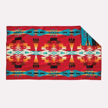 Tucson saddle blanket, red. Pendleton Woolen Mills.