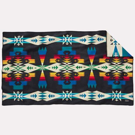 Tucson saddle blanket, black. Pendleton Woolen Mills, USA.