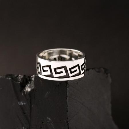 Hopi ring size 5.5 by Anthony Honahnie