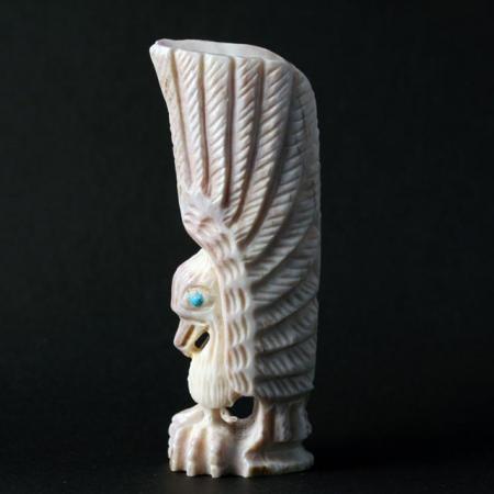 Zuni Eagle by Garrick Weeka