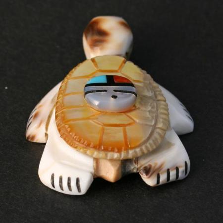 Zuni Turtle (Edo:wa) by Darren Boone