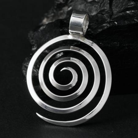 Spiral pendant by Lorraine Martinez