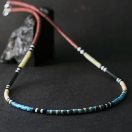 Kewa Heishi Necklace by Harvey & Janie Chavez