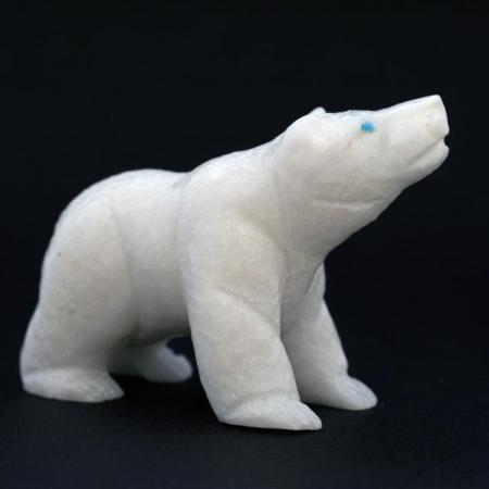 White Bear Fetish by Herb Him