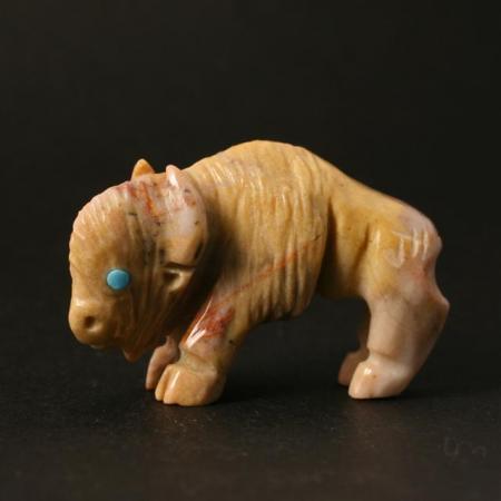 Zuni Buffalo Calf by Vince Chavez
