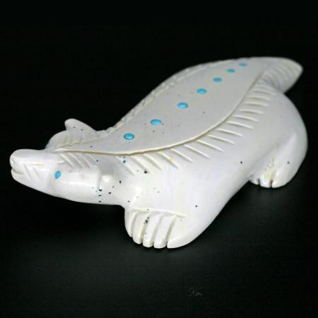 White Badger by Daniel Westika, Zuni