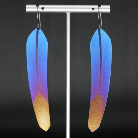 TechFeather earrings by Pat Pruitt
