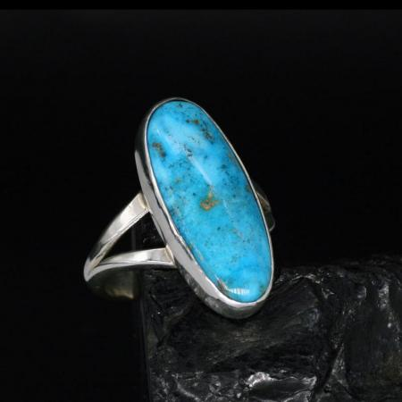 turquoise ring by H&J Chavez