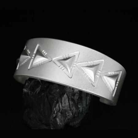 Repoussé Bracelet by Chris Pruitt