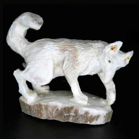 Running Wolf by Lewis Malie, Zuni