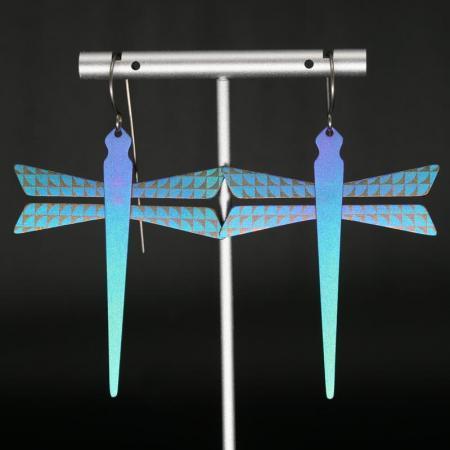 Titanium Dragonfly Earrings by Pat Pruitt