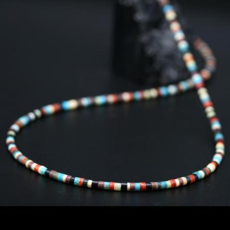 Pueblo Heishe Necklace by Harvey & Janie Chavez